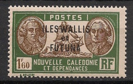 Wallis Et Futuna - 1939-40 - N°Yv. 84 - Bougainville 1f60 - Neuf Luxe ** / MNH / Postfrisch - Wallis And Futuna