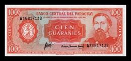 Paraguay 100 Guaraníes L.1952 (1963) Pick 199b SC UNC - Guyana