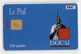 PIAF FRANCE DOUAI Ref Passion PIAF 59500-9a  150 U ORGA 3 Date 11/01 Tirage 1000 Ex - Francia