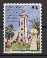 Polynésie - 2018 - N°Yv. 1183 - Phare De La Pointe Venus - Neuf Luxe ** / MNH / Postfrisch - Nuevos