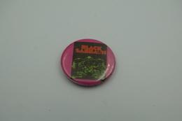 Vintage BUTTON: BLACK SABATH *** - 1 INCH - Speld - Epingle - Badge - Pinback - RaRe - ORIGINAL 1980's - Heavy Metal - Pin's