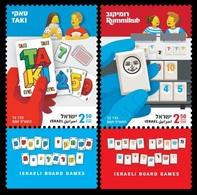 2019Israel2vIsraeli Board Games - Nuevos (con Tab)