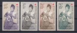 Laos 1958 Mi 81 – 84 MNH - Laos