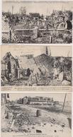 62  NEUVE CHAPELLE  - Lot De 3 Cartes Guerre 1914-1918 - CPA N/B 9x14 BE - France