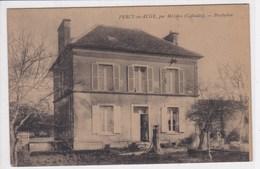 14 PERCY Sur AUGE Par Mézidon,presbytère ,curé à La Porte - Autres Communes