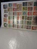 GB- ROYAUME -UNI- COLONIES  Collection Dans Album 500 Timbres Anciens - Verzamelingen (in Albums)