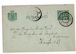 Nes (Westdongeradeel) Grootrond - 1900 - Postal History