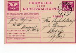 Kinderdijk Langebalk - 1934 - Postal History