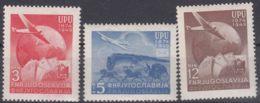 Yugoslavia Republic 1949 UPU Mi#578-580 Mint Hinged - 1945-1992 République Fédérative Populaire De Yougoslavie