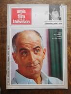 """Revue """"Amis Du Film Et De La Télévision"""" 1969 Couverture Louis De Funès - Cinéma/Télévision"""
