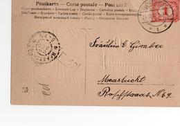 Mechelen (LB) Langebalk 1 - 1907 - Marcophilie
