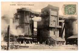 CPA 52 - SAINT DIZIER (Haute Marne) - Hauts Fourneaux De Marnaval - Ed. X. Monnin - Industrial