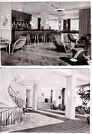ALLEMAGNE FREIBURG BREISGAU ,Grand Hôtel ,cercle Des Officiers ,intérieur Salle ,bar ,lot De 2 Cartes - Freiburg I. Br.