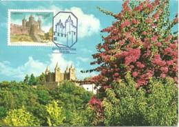 Carte Maximum - Portugal - Vila Da Feira - Castelo - Castle - Chateau - Cartes-maximum (CM)