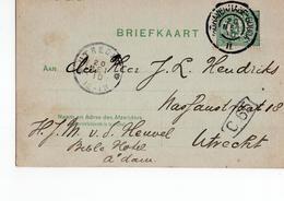 S Gravenhagen Gouda II Grootrond Utrecht - 1910 - Postal History