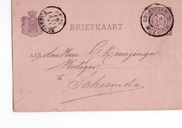 Scheemda Kleinrond - 1897 - Marcophilie