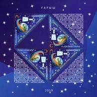 Kazakhstan 2019  50 Years Of Space Mail. Klb - Kazakhstan