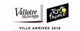 Tour De France 2019 Autocollant Valloire Galibier Savoie Sport Vélo Cyclisme Cycliste - Ciclismo