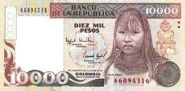 Colombia P.433a 10000 Pesos 1993   Unc - Colombia
