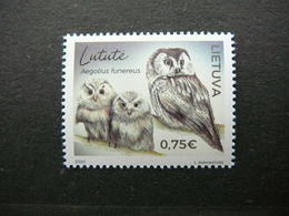 Red Book. Owls # Lithuania Lietuva Litauen Lituanie Litouwen # 2020 MNH # - Lithuania