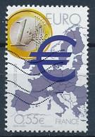France - Projets Européens - L'Euro YT 4245 Obl. Ondulations TSC - Oblitérés