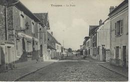 78 ( Yvelines ) - TRAPPES - La Poste ( Tampon Au Verso  5 E REG Du GENIE - Place De Versialles ) - Trappes