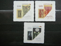 Definitive State Symbols Old Paper Money # Lithuania Lietuva Litauen Lituanie Litouwen # 2020 MNH # - Lithuania