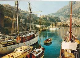 MONACO.   LE PORT . ANNEE 1970 + TEXTE - Port