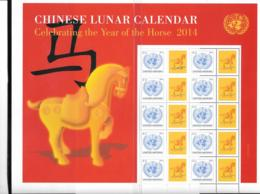 2014 - 1369 **MNH - Horoscope, Année Du Cheval - New York – UN Headquarters