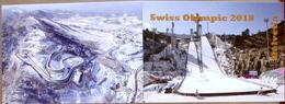 Schweiz Suisse Helvetia 2018: SWISS OLYMPIC Heftchen - Carnet - Booklet Mit O ITTIGEN 29.I.18 Talgut - Inverno 2018 : Pyeongchang