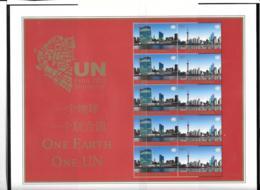 2010 - 1201 à 1202 **MNH - New York – UN Headquarters