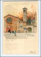 Y15147/ Lugano    Manuel Wielandt Litho AK 1900  Schweiz  - Non Classés