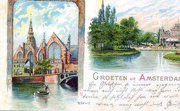 Amsterdam -2 Luik ,Vondelpark En Oude Kerk - Amsterdam