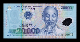 Vietnam 20000 Dong 2016 Pick 120g Polymer SC UNC - Vietnam