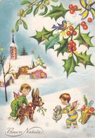 Italia --Buon Natale--1961 Milano-- - Bebes