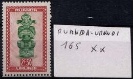 Artisanats Et Masques N° 165 XX - Ruanda-Urundi