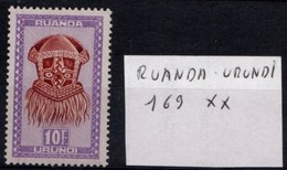 Artisanats Et Masques N° 169 XX - Ruanda-Urundi