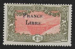 COTE FRANCAISE DES SOMALIS 1942 YT 203** - Côte Française Des Somalis (1894-1967)