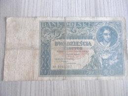 POLOGNE-BILLET 20 ZLOTYCH 1931-ayant Bien Circulé/N°9168287 - Pologne