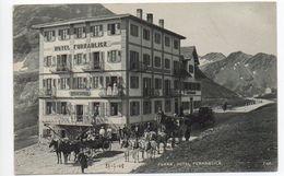 Furka Belvedere Postkutsche Diligence  °°  224 - VS Wallis