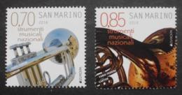 San Marino     Europa   Cept    Musikinstrumente     2014 ** - 2014