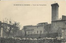 CPA - 04 - Saint Martin De Bromes - Tour Des Templiers - Andere Gemeenten
