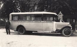 RPCP :  Autocars CH. Breton 47. Rue D'Alsace Luneville, Photo Of Old Postcard, 2 Scans - Automobile
