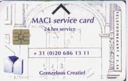 NETHERLANDS : CRD015 MACI Serice Card      DUMPING - Pays-Bas