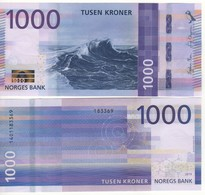 NORWAY  Just Issued   New Attractive  1'000  Kr  Dated 2019.  UNC - Norway