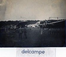 Photo Authentique - Semaine Aviation à REIMS - AOUT 1909 -  Avion N° 17 - Aviation