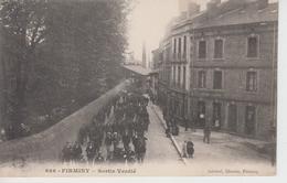 CPA Firminy - Sortie Verdié (jolie Animation) - Firminy