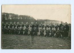 Y9366/  Soldaten Mit Gewehr Und Pickelhaube 1. Weltkrieg Foto AK 1916 - Guerra 1914-18