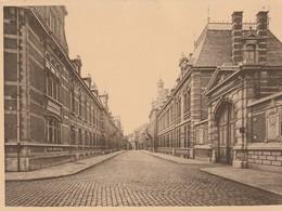 Anvers  Hôpital Militaire - Rue Privée - Krijgsgasthuis Van Antwerpen - Afgesloten Straat - Antwerpen