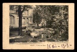 54 - NANCY - PROPRIETE 16 RUE DES GLACIS - Nancy